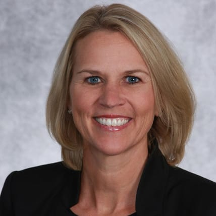 Photo of Emily Robinson, COO of FirstBank
