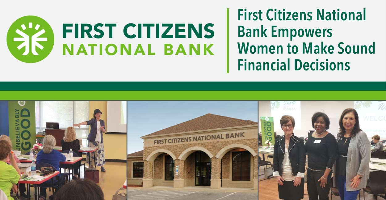 Building on Its Community Focus, First Citizens National Bank Empowers Tennessee Women to Make Sound Financial Decisions