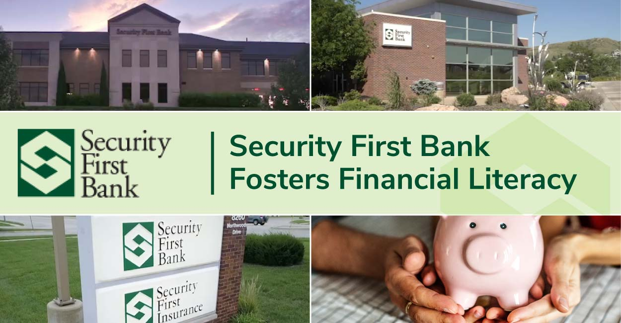 Security First Bank is Recognized for Fostering Financial Literacy in Nebraska and South Dakota Communities Through Online Courses and Hands-On Programs