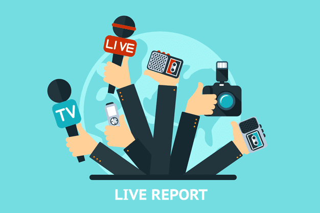 Graphic Showing Various Types of Reporters