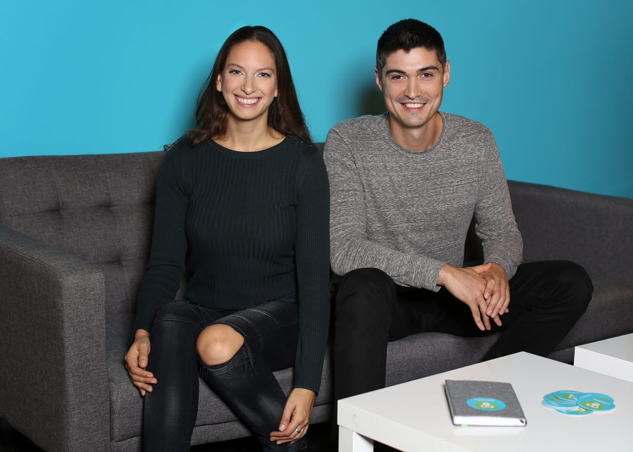 Image of Wanderu Co-Founders Polina Raygorodskaya and Igor Bratnikov