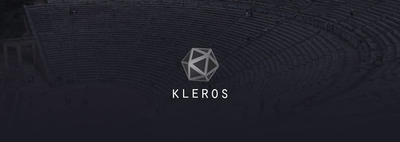 Screenshot of Kleros logo