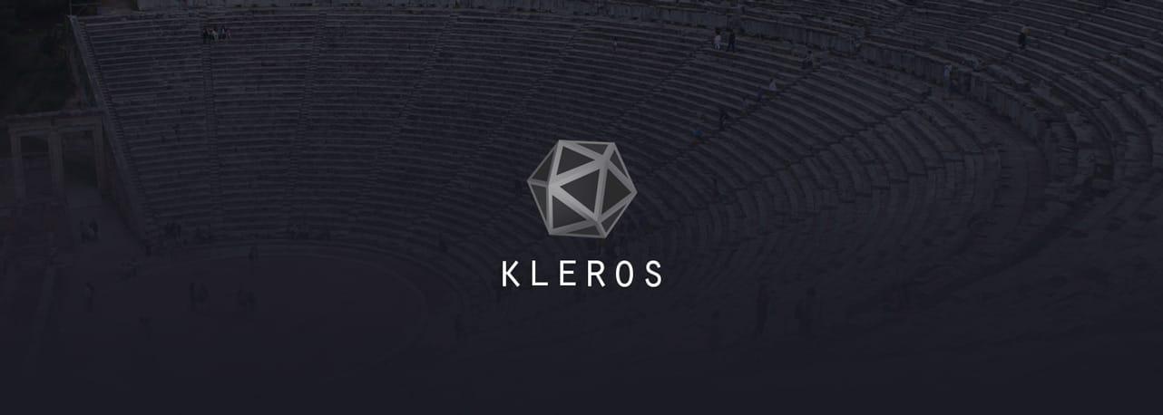 Screenshot of Kleros logo