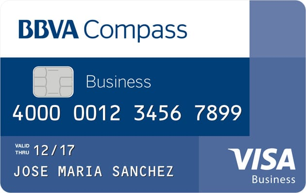 BBVA Compass Visa® Business Rewards Credit Card
