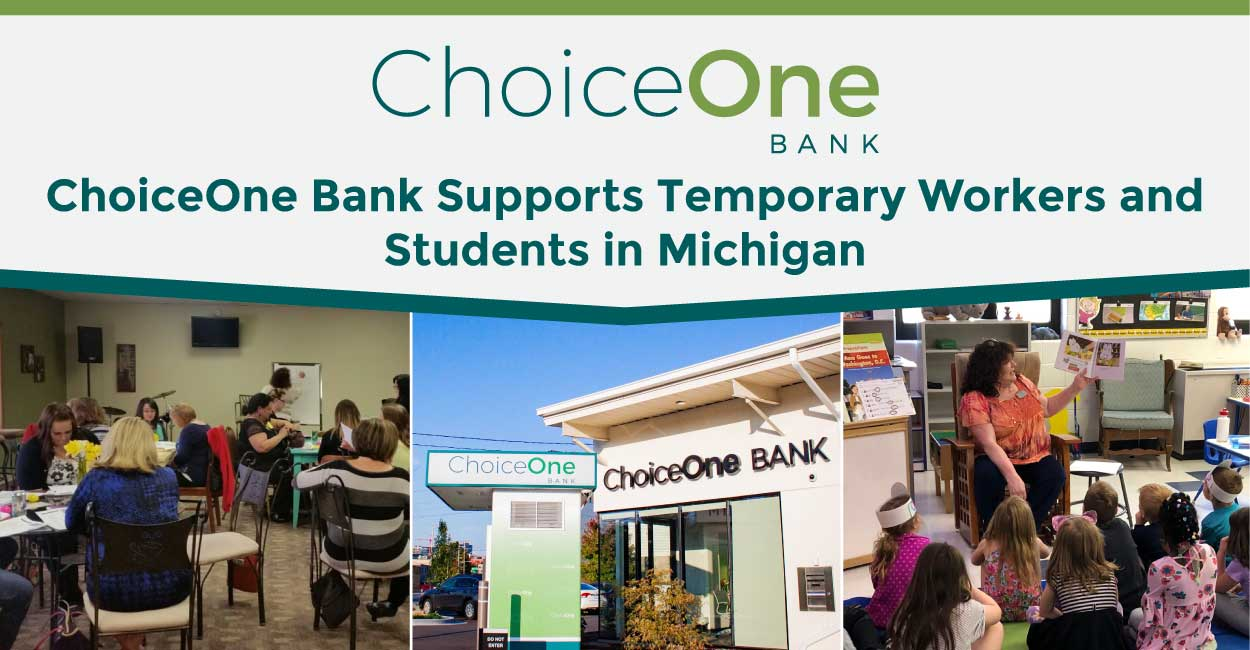 ChoiceOne Bank Contributes Time and Talent to Support Temporary Agricultural Workers, Students, and Many Others in West Michigan