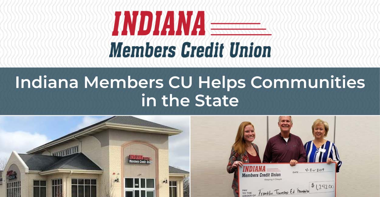 Indiana Members Credit Union Earns Recognition for its Financial Literacy Program and Charitable Foundation that Benefit Communities in the State