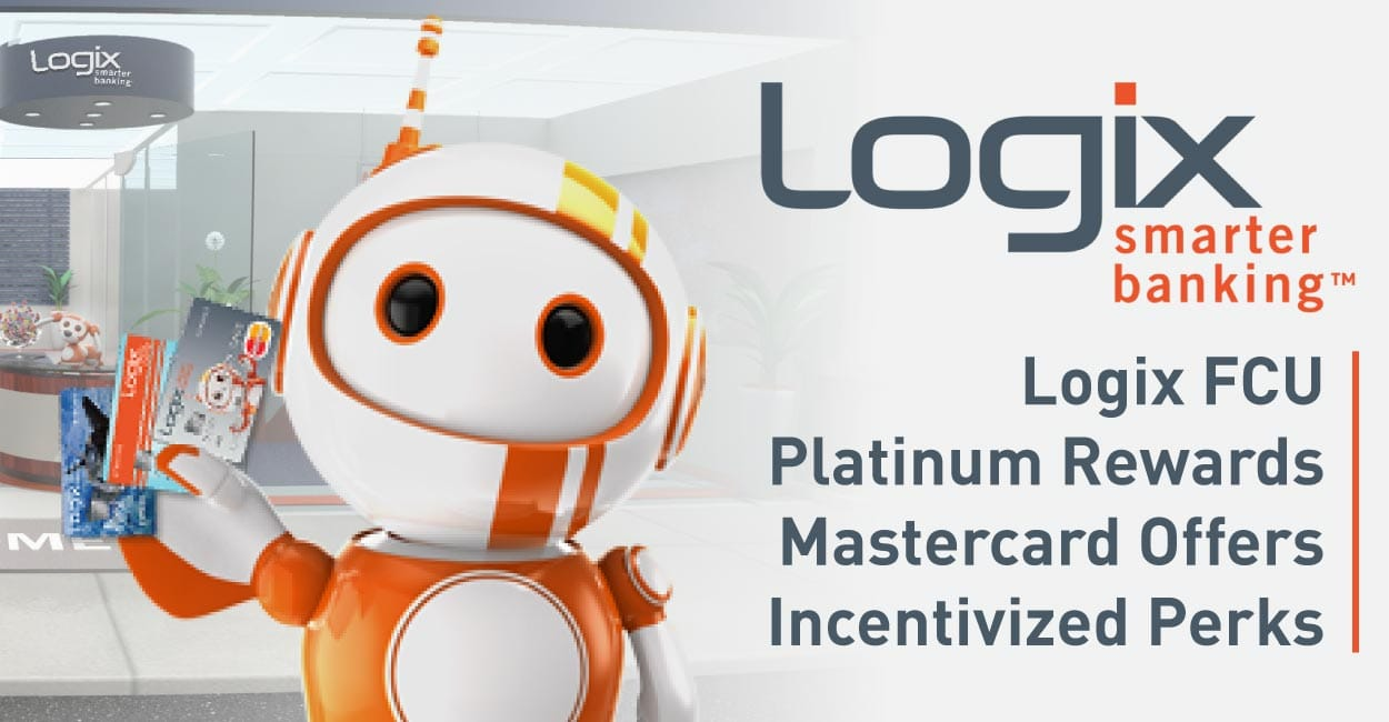 Platinum Rewards Mastercard® from Logix Federal Credit Union Earns 2019 Editor's Choice Award™ for Incentivized Perks and Travel Protections