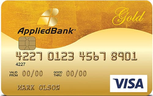 Image of the Applied Bank Secured Card