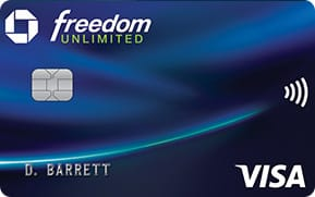 Chase Freedom Unlimited® Card