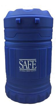 Photo of the SAFE FCU Hurricane Lanterns