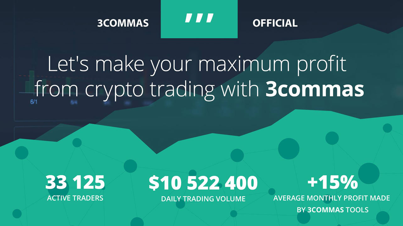 Screenshot of 3Commas trading statistics