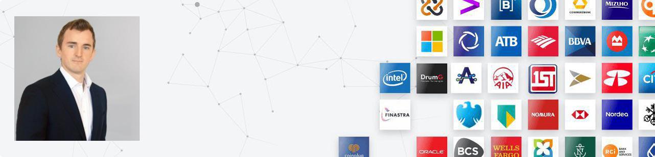 Collage of photo of aXpire COO Matthew Markham and partner screenshot