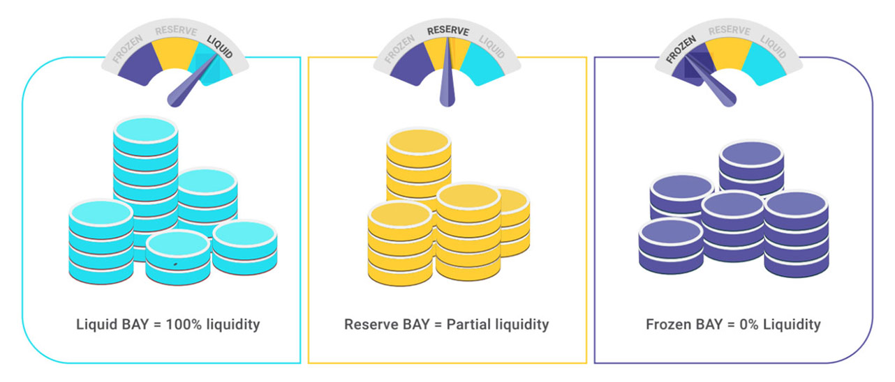Screenshot of BitBay reserve graphic