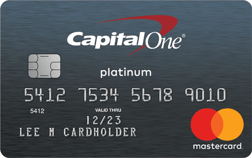 Capital One® Platinum Mastercard