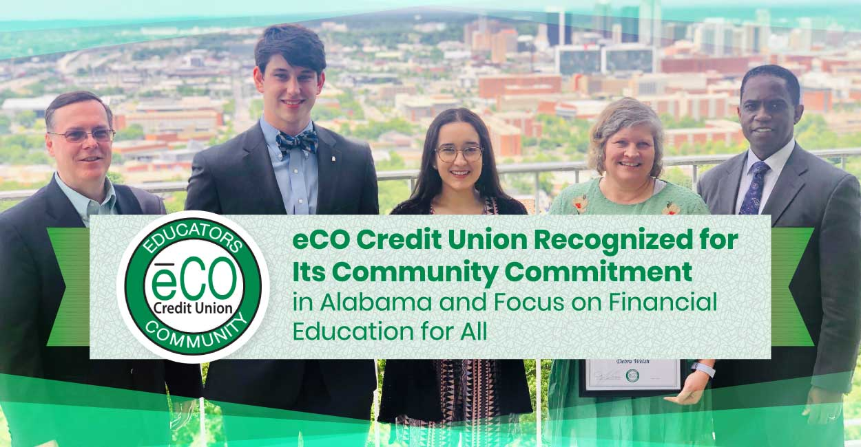 ēCO Credit Union Recognized for Its Community Commitment in Alabama and Focus on Financial Education for All