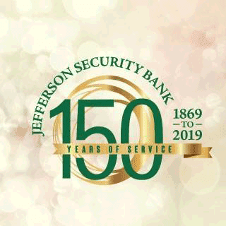 Jefferson Security Bank 150 Years of Service