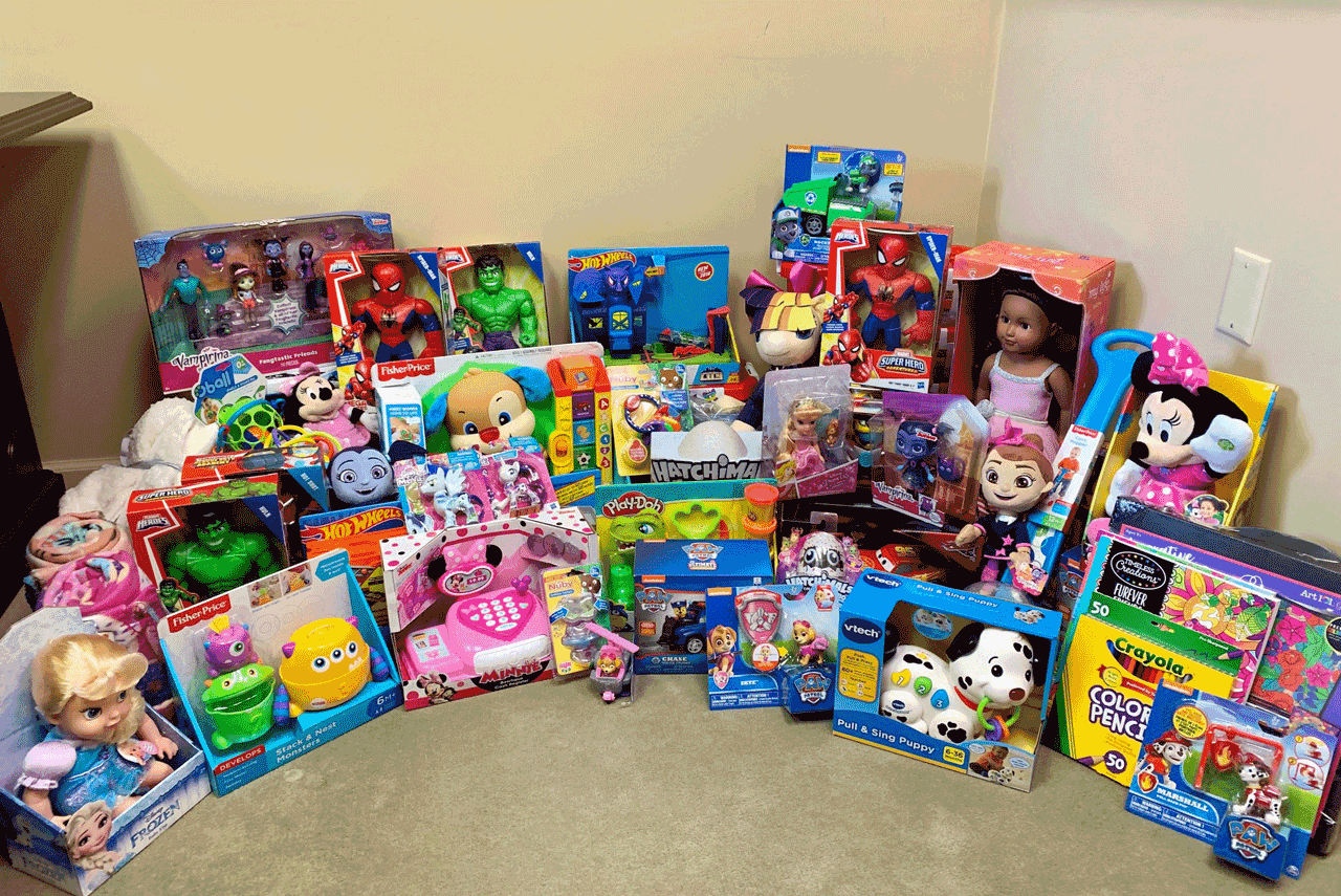 Photo of JSB toy donations