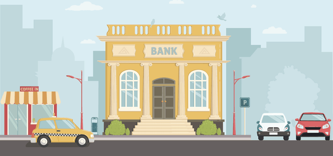 Bank Illustration