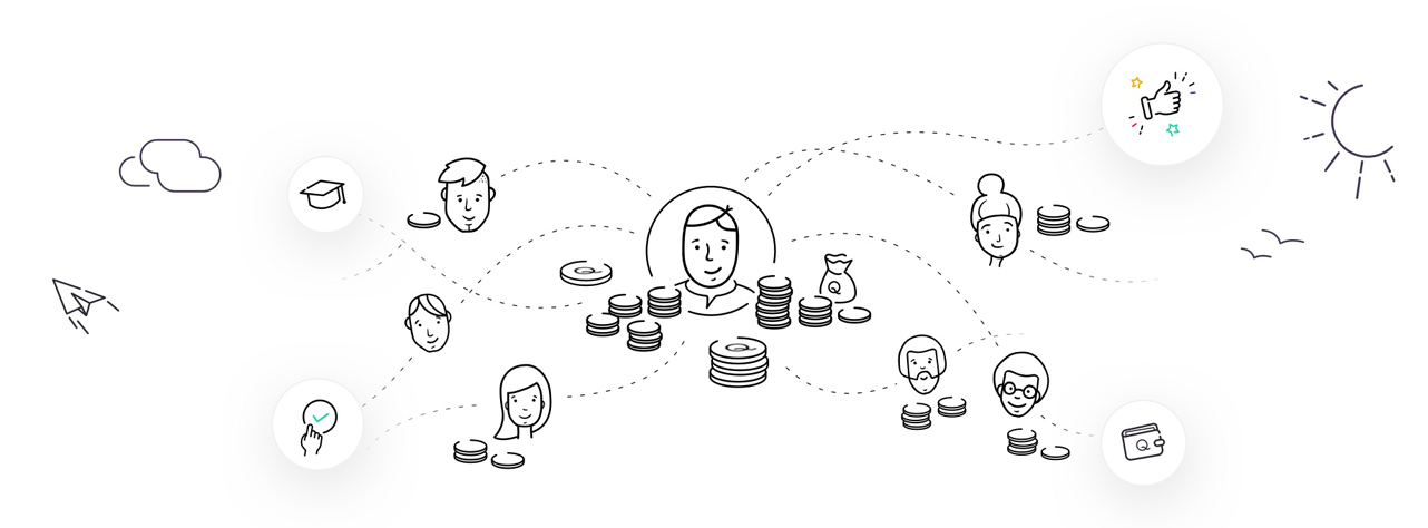 Screenshot of Initiative Q graphic