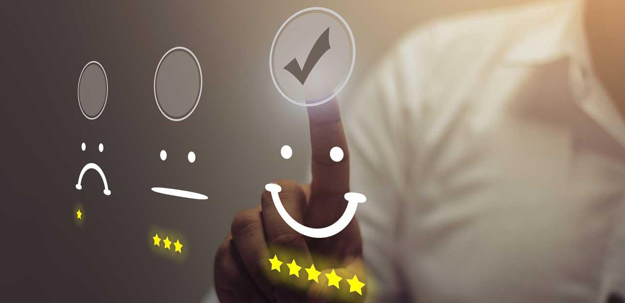 Happy Customer Graphic