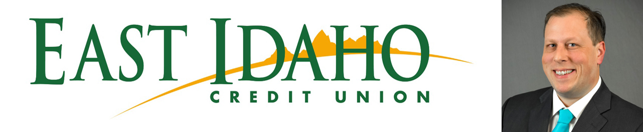 East Idaho Credit Union logo and VP of Marketing Toby Hayes