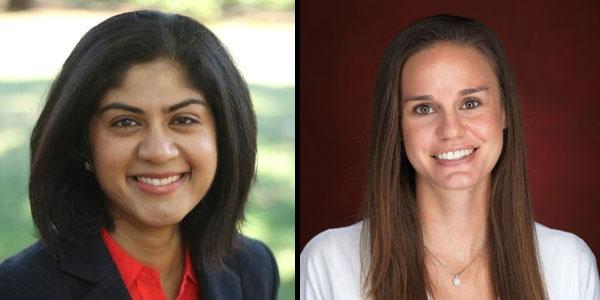 Sriya Anbil and Angela Vossmeyer