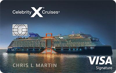 Celebrity Cruises® Visa Signature® Credit Card