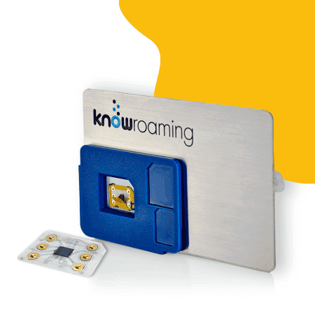 KnowRoaming SIM Sticker