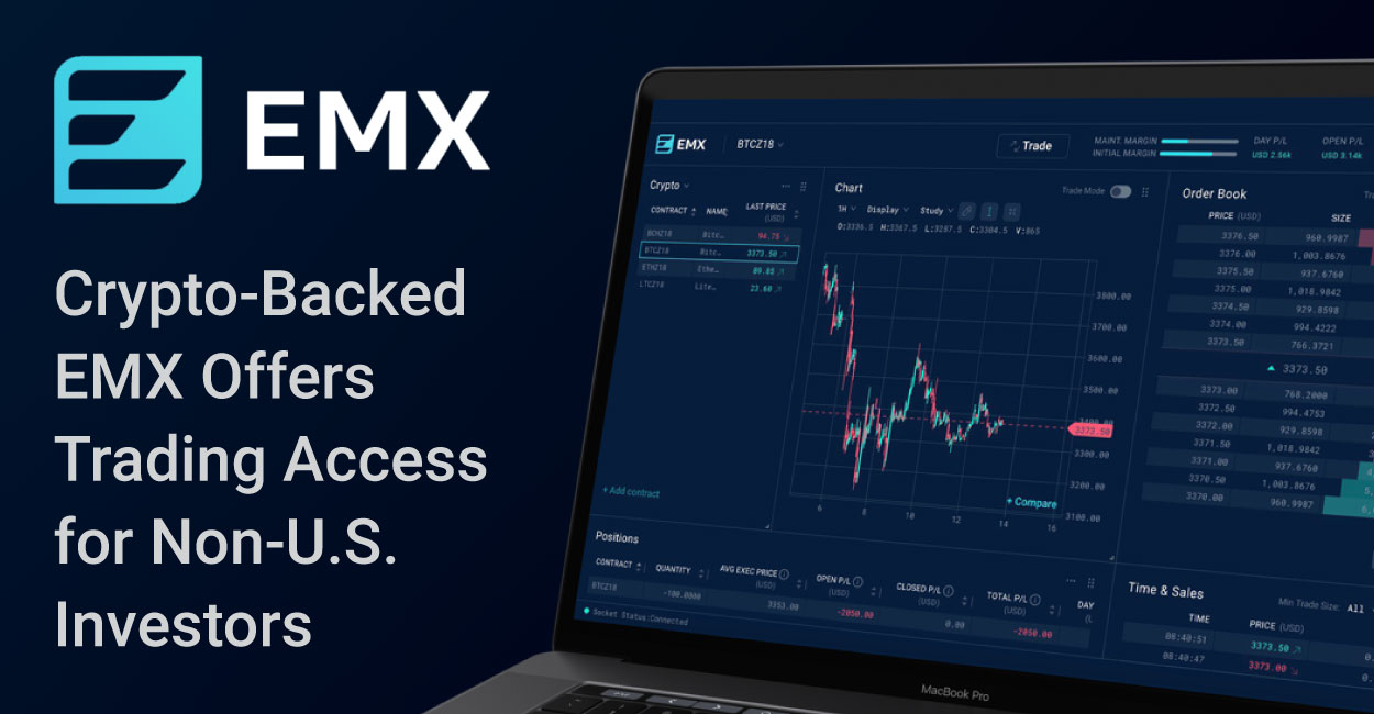 The Cryptocurrency-Backed EMX Platform Offers Fair Access to Traditional and Derivatives Trading for Investors Outside the U.S.