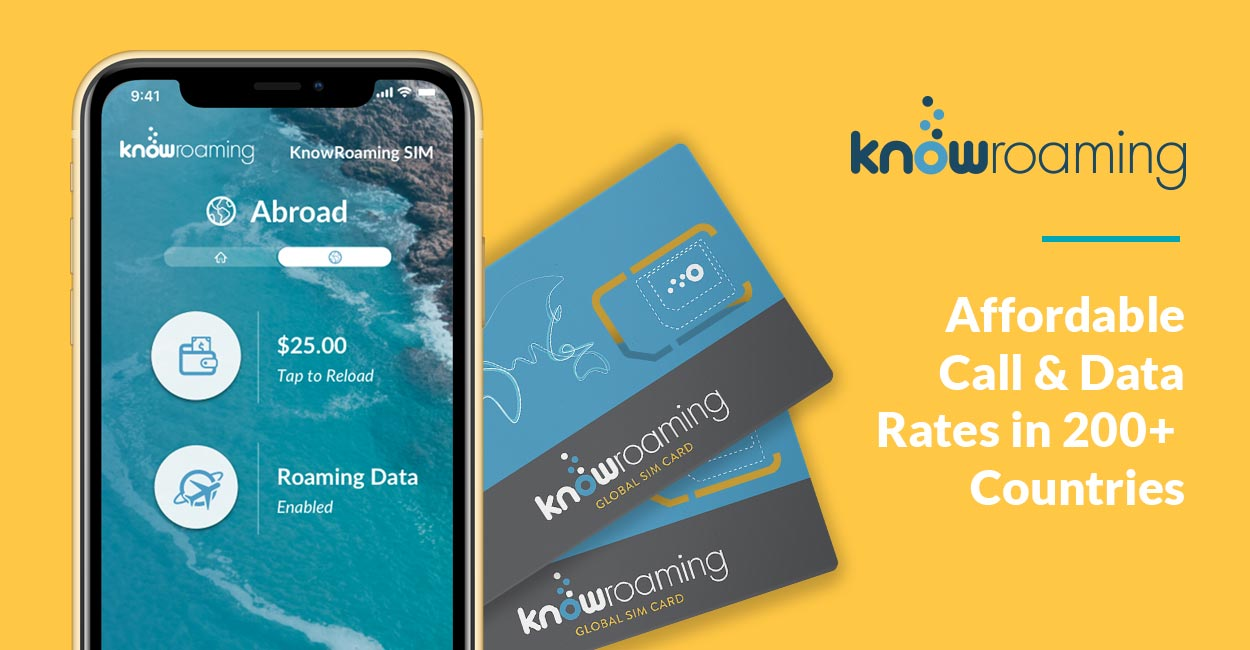 KnowRoaming's SIM Cards and eSIM Offerings Help Travelers Save Money by Facilitating Affordable Call and Data Rates in More than 200 Countries
