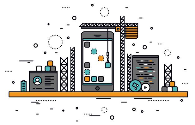 App-Building Graphic