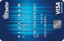 PenFed Platinum Rewards Visa Signature® Card