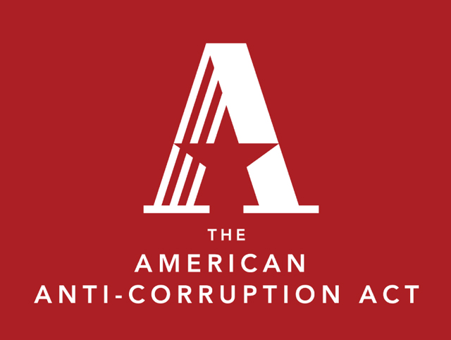 The American Anti-Corruption Act logo