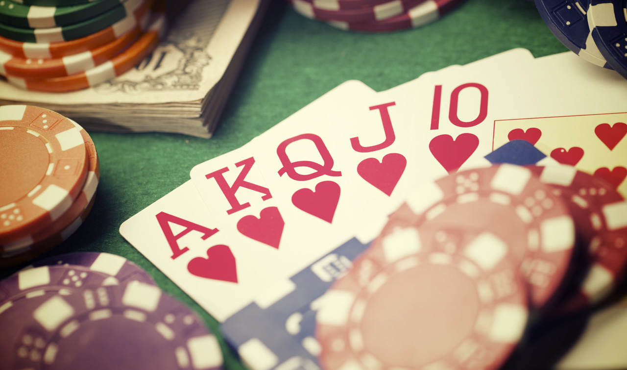 Photo of Cards and Poker Chips